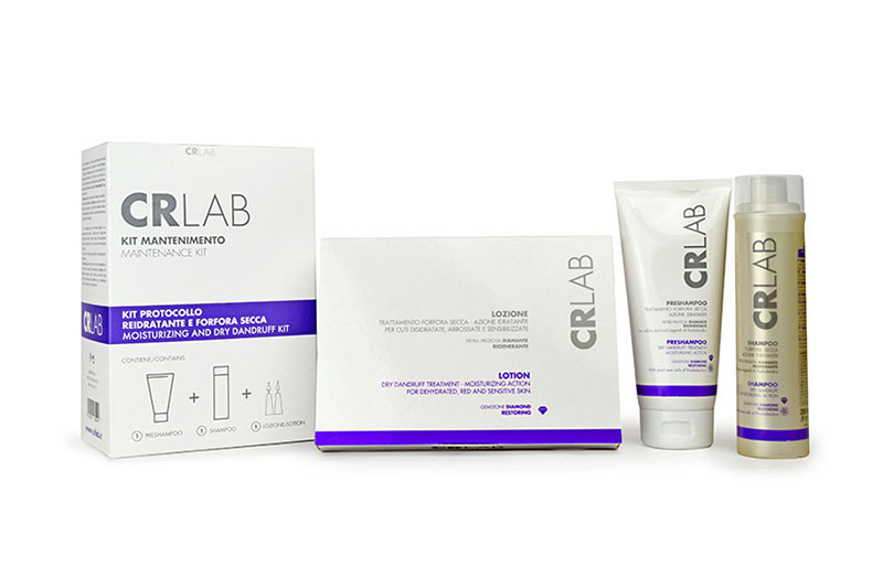 CR Lab dandruff products